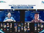 Jasa Tirta I Ajak Puluhan Wartawan Belajar Jurnalisme Data