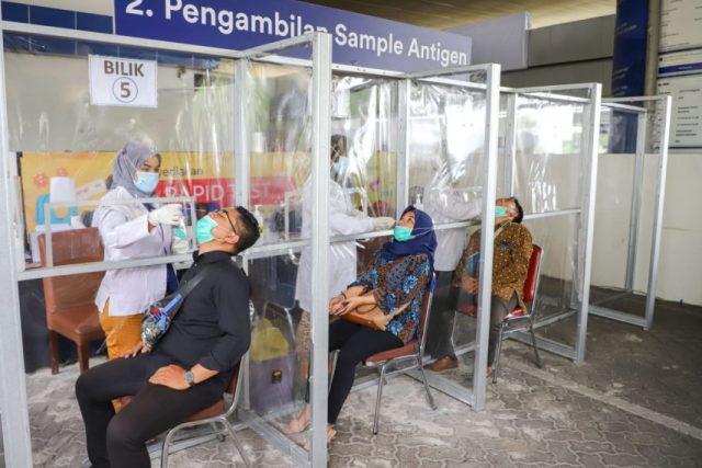 KAI Sediakan 83 Stasiun yang Layani Rapid Test Antigen