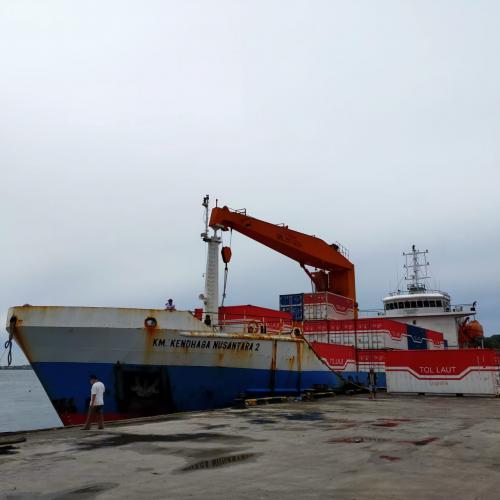 Tingkatkan Pelayanan Angkutan Barang Di Laut