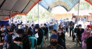 Masyarakat Baduy Antusias, Layanan Diperpanjang 1 Bulan Di Kantor Desa