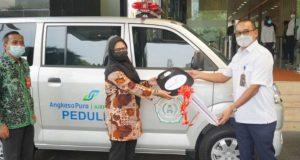 Angkasa Pura Airports Sumbangkan Dua Unit Ambulance