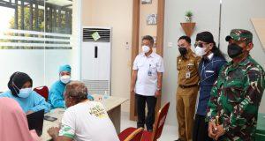 Kemenhub Dan TNI AD Berkolaborasi Gelar Vaksinasi Dan Bantuan Sembako Di Provinsi Lampung