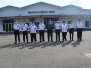 Bandara Tiom Edukasi Disiplin Protokol Kesehatan pada Penumpang