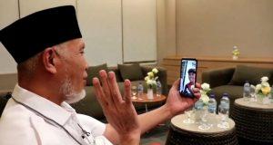 Yalatif Raih Emas Cabor Gantole, Gubernur Mahyeldi Ucapkan Selamat Melalui Video Call