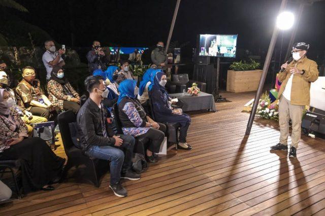 Menparekraf Optimistis Kuliner dan Seni Pertunjukan Kabupaten Bandung Barat Bisa Bersaing di Kancah Internasional