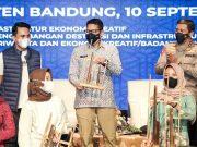Menparekraf Dukung Ekonomi Kreatif Jadi Andalan di Kabupaten Bandung