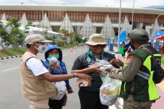 Sukseskan PON XX 2021 Papua, Kemendagri Masifkan Gerakan Pembagian Masker