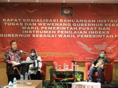 Kemendagri Gelar Sosialisasi Rancangan Instrumen Tugas dan Wewenang Gubernur sebagai Wakil Pemerintah Pusat