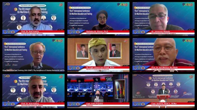 Kemenhub Komitmen Majukan Pelatihan Maritim Indonesia