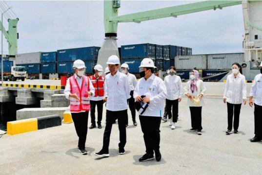 Presiden Resmikan Terminal Multipurpose Wae Kelambu Pelabuhan Labuan Bajo