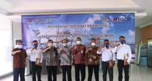 Terwujudnya SDM Kepelabuhanan Sesuai Standar Kompetensi Kerja Nasional Indonesia, Poltekpel Surabaya Gandeng KSOP Probolinggo Diklatkan TKBM